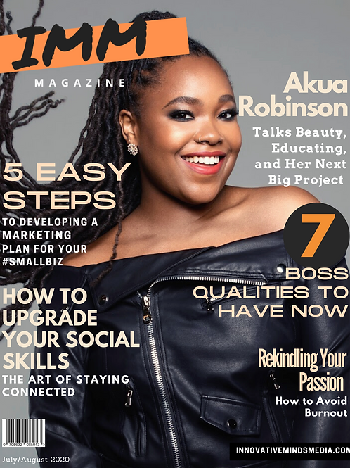 IMM Magazine - July/August 2020 Issue