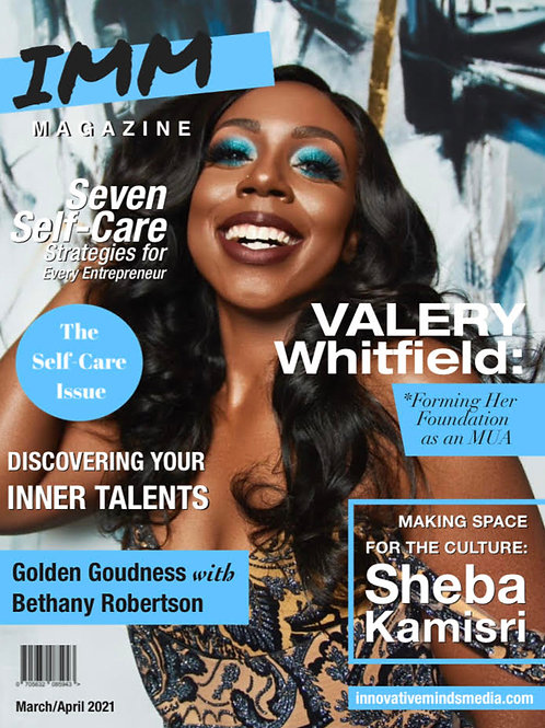 IMM March/April Self-Care 2021 Issue
