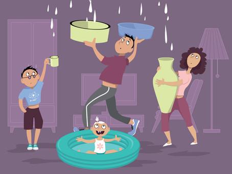 Comment faire face à un dégât des eaux ?
