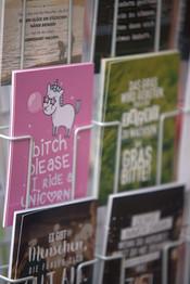 chuches postkarten einhorn