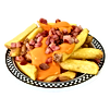 American Dream Diner Bacon Cheese Fries