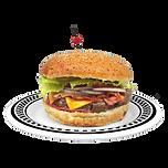 American Dream Diner BBQ Burger