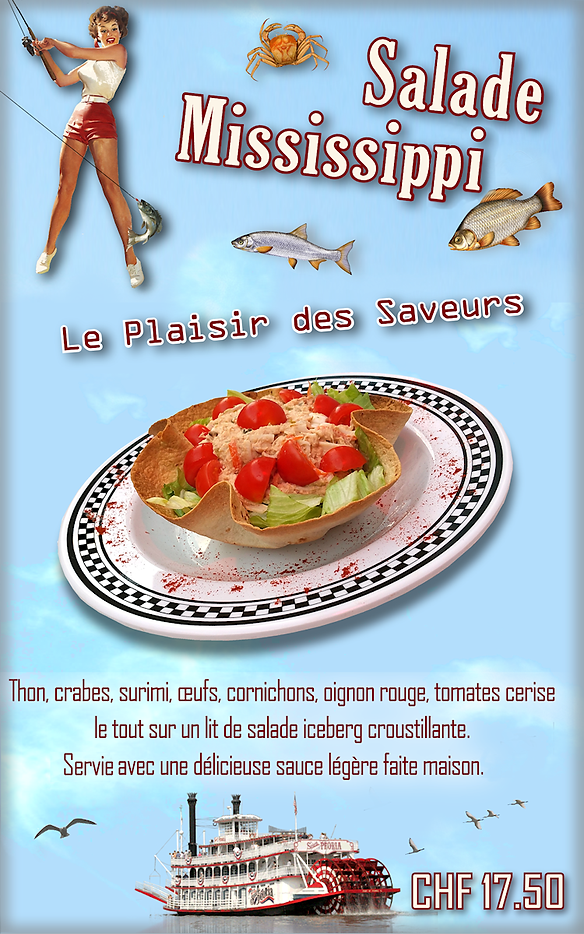 American Dream Diner  Mississipi Salad