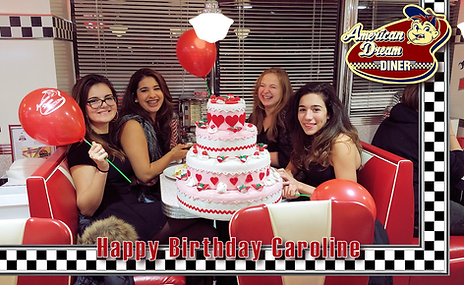 You Best Birthday at the American Dream Diner