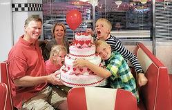 Venez fêter votre anniversaire àl'American Dream Diner