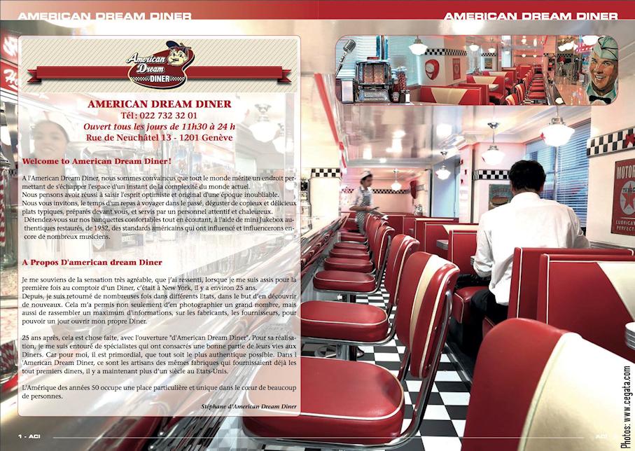 American Dream Diner 13 Rue de Neuchâtel 1201 Genève Suisse