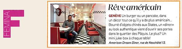 Femina Rêve américain American Dream Diner