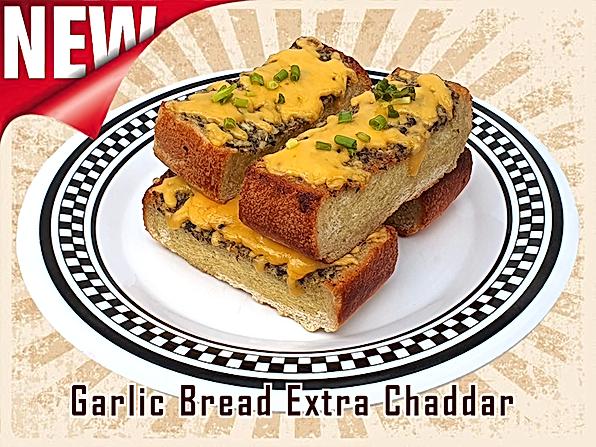 Garlic Bread Extra Chaddar - American Dream Diner