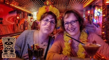 Tiki Rock Bar Friends