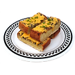 American Dream Diner Bacon Garlic Bread Extra Cheddar