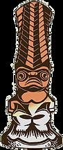 Kanaloa, le dieu du monde marin Tiki Rock Bar