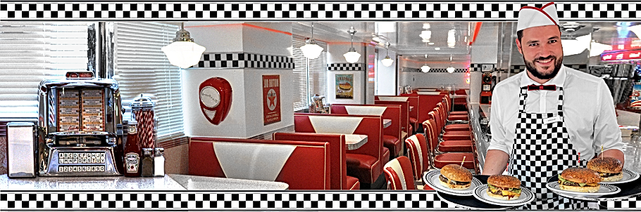 Banère American Dream Diner