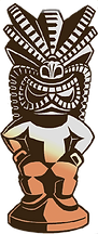 Lono, le dieu de l'agriculture et de la paix Tiki Rock Bar