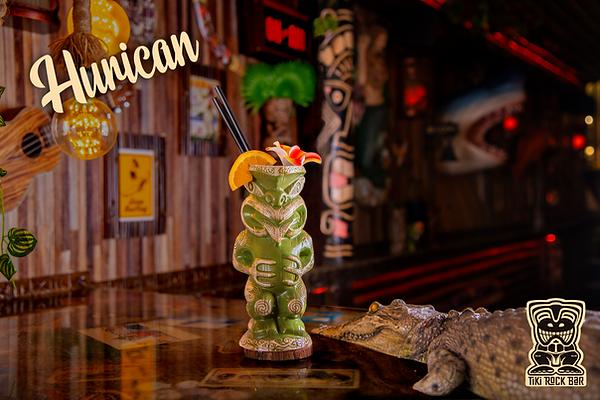 Cocktails Hurican au Tiki Rock Bar