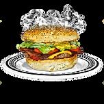 American Dream Diner Smokey Crispy Bacon Burger