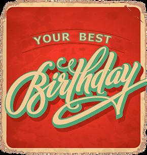 American Dream Diner Your Best Birthday