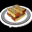 American Dream Diner Bacon Garlic Bread