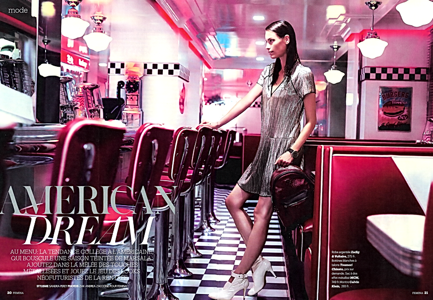Shooting Femina à l'American Dream Diner