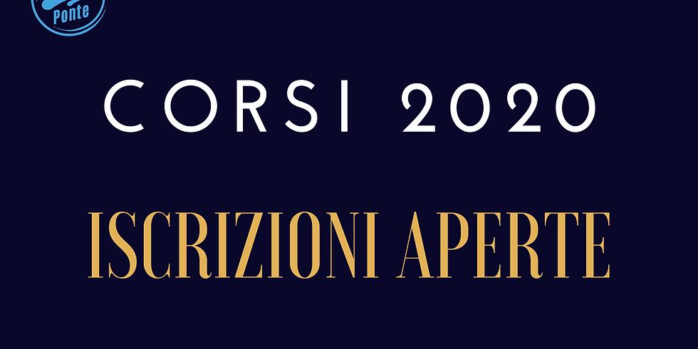CORSI 2020 ISCRIZIONI APERTE