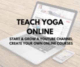 Youtube 101 for Yoga Teachers & Health P