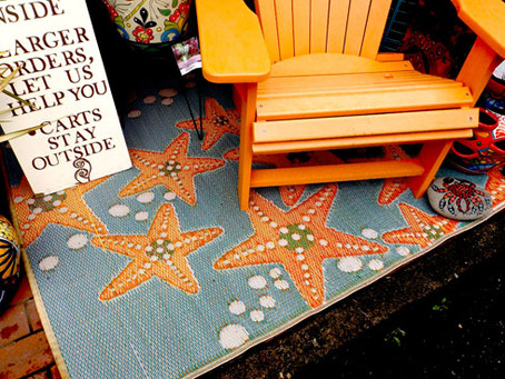 Brighten Up Your Outdoor Rooms with Colorful Rugs from Mad Mats
