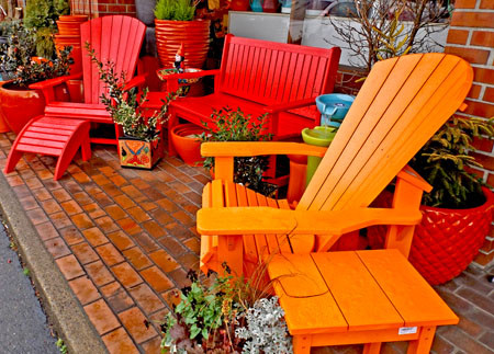 Colorful, Comfortable Garden Furniture from CR Plastic Products