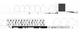 Elevations (south and west)