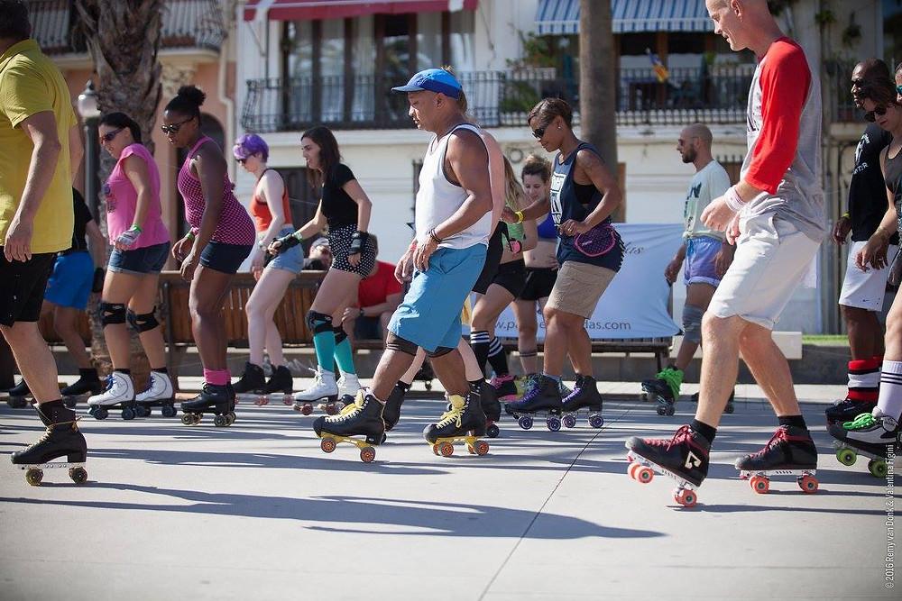 "© Photo: Remy van Donk & Valentina Figini. Workshop: ""Venice Moves"" by Tony Limtiaco at Skate Love Barcelona 2016"