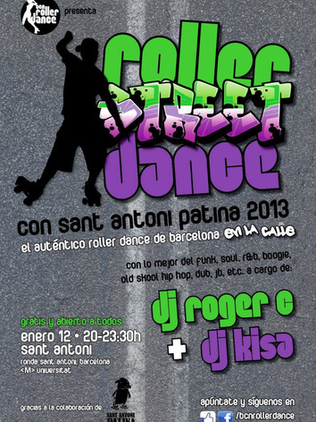 Roller Street Dance 2013