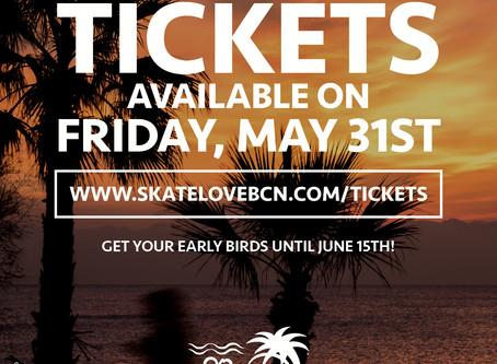 Tickets May 31st / Tickets Mayo 31