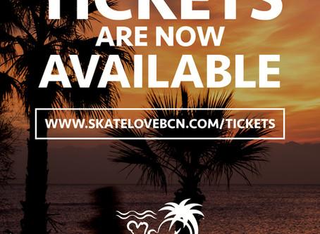 Tickets SkateLove 2019