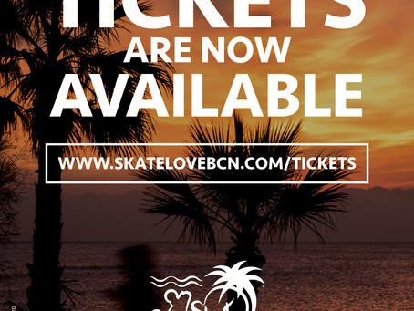Tickets SkateLove 2019