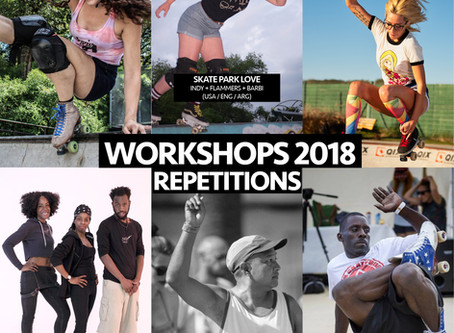 Extra Workshops available!