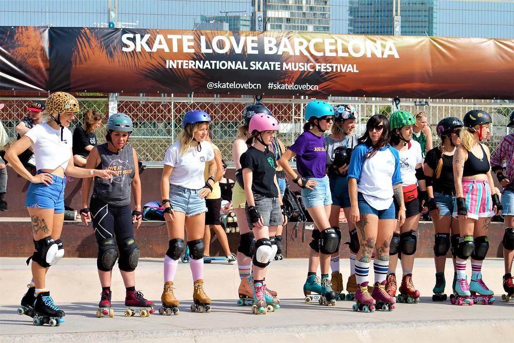 patinadoras roller skaters