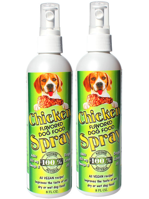 Dog food toppers chicken flavor