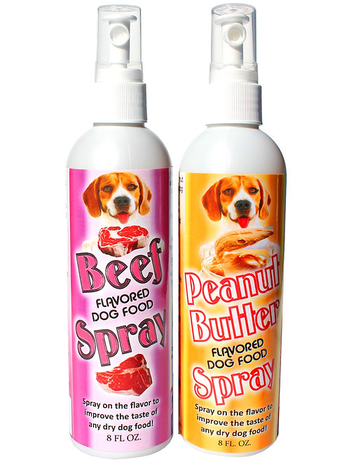 Beef and Peanut Butter Flavor Omega 3 Sprays