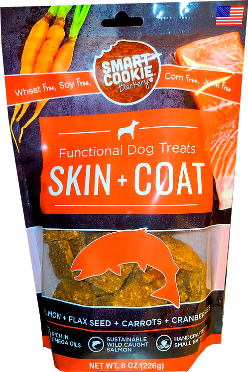 Salmon Flavored Dog Treat Made in USA