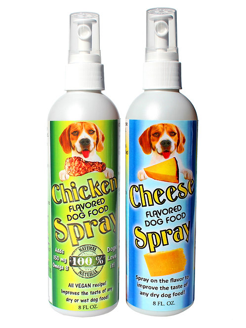 Chicken & Cheese Dog Food Toppers