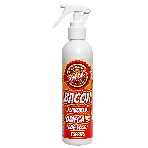 Dog Food Topper Bacon Flavor 8 oz