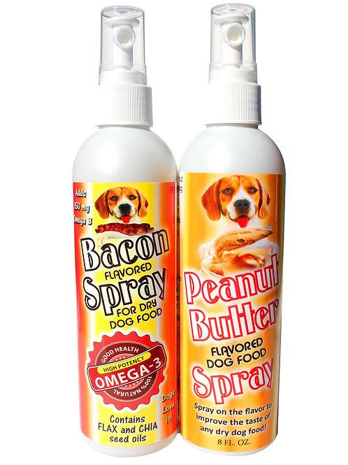 Dog food dressings