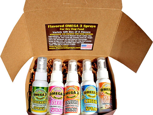 Flavored Sprays Gift Box Collection