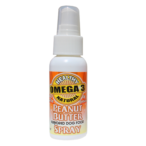 PEANUT BUTTER FLAVOR OMEGA 3 SPRAY 2 oz