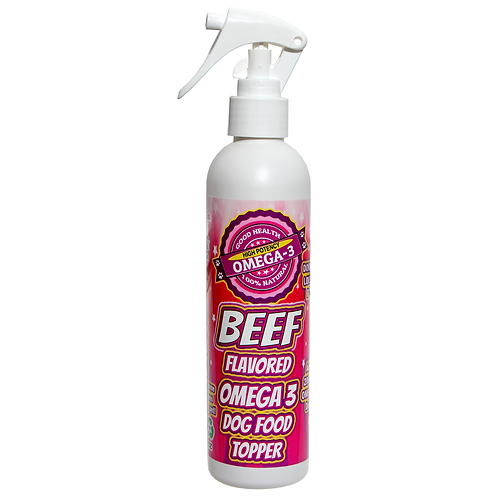BEEF FLAVORED OMEGA 3 SPRAY 8 oz