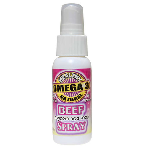 BEEF FLAVORED OMEGA 3 SPRAY 2 oz