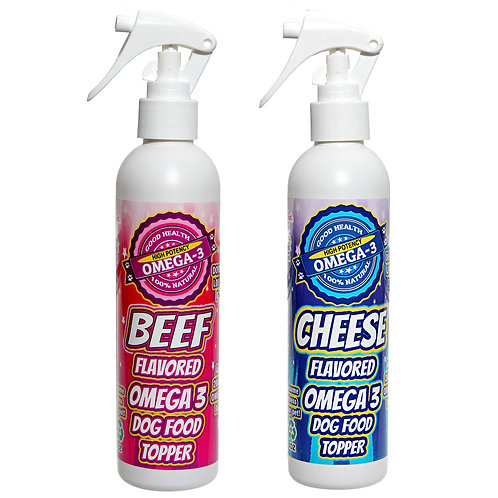 Beef & Cheese Dog Food Toppings 8 oz