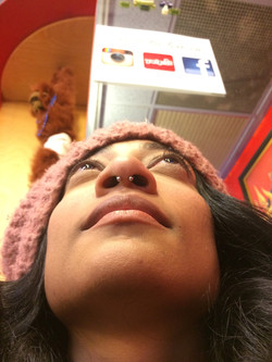 septum, nose piercing, ring