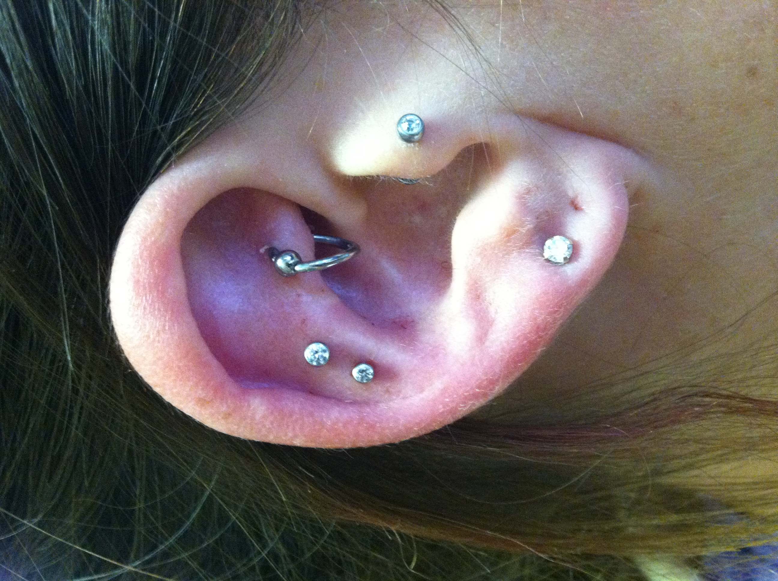 cartilage, ear piercing