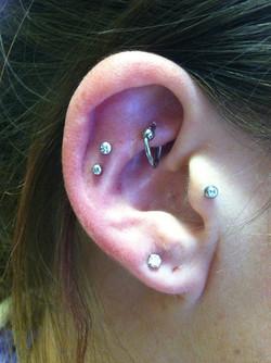 cartilage, ear piercing