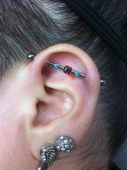 industrial ear piercing