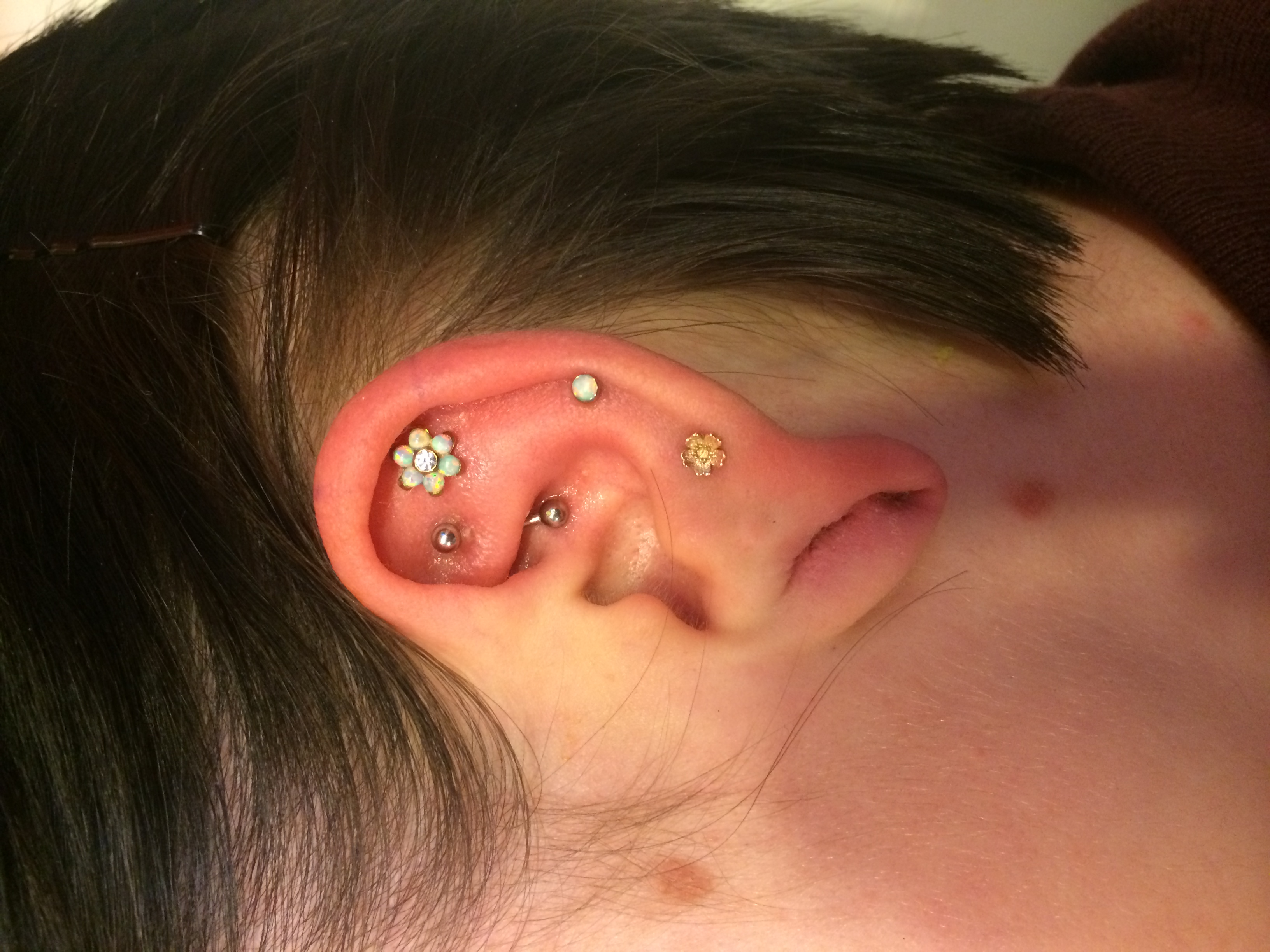 ear piercing, jewelry